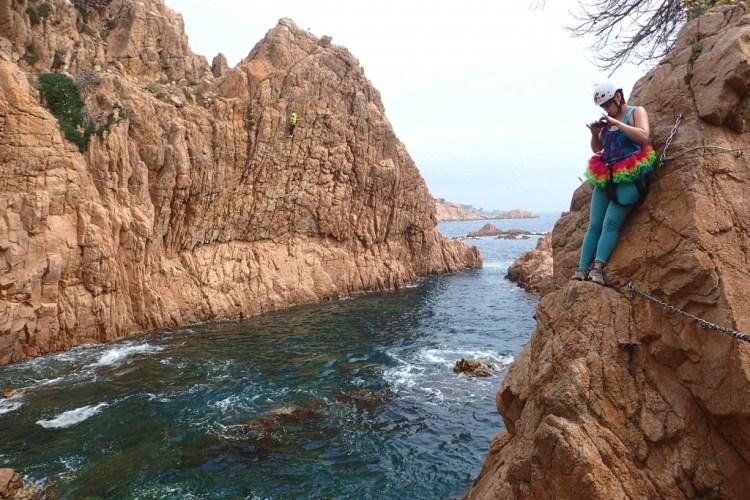 Via Ferrada de la Cala del Moli in Sant Feliu de Guixols