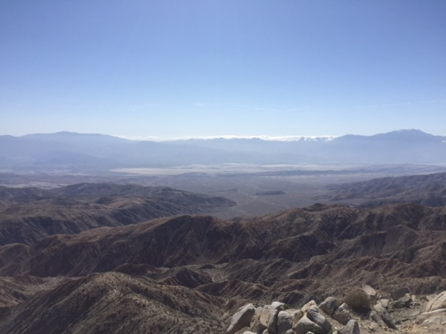 a view of Skull Valley at Joshua Tree National Park
