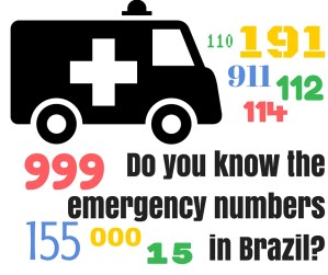 Do You Know the Emergency Numbers in Brazil?