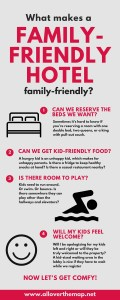 family-friendly hotels infographic