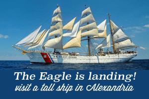 Coast Guard Tall Ship in Alexandria