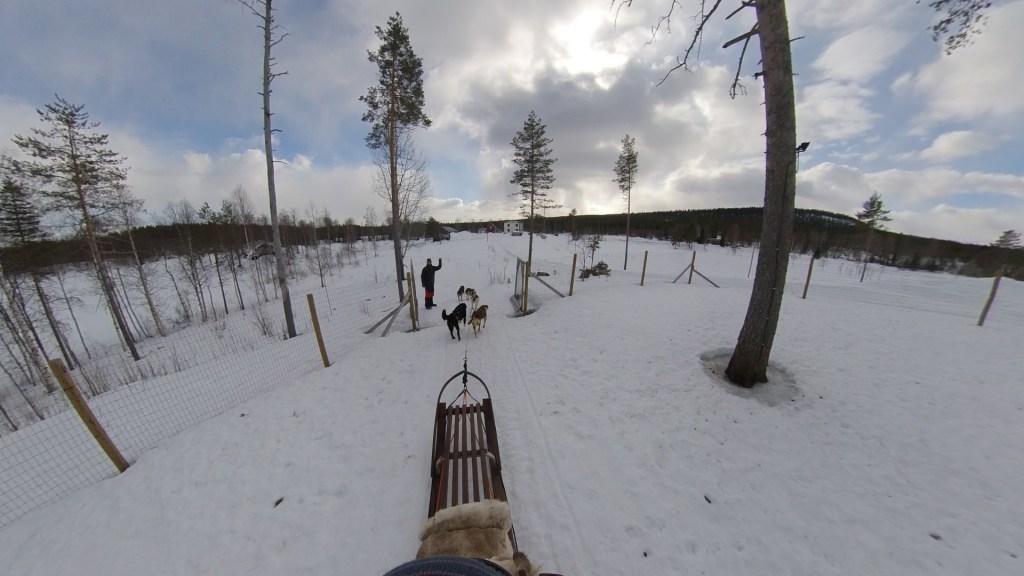 A virtual husky trip to Swedish Lapland from Virtually Visiting