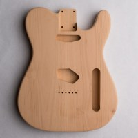 2-Piece Alder T-Style Unfinished Guitar Body