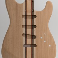 Laminate Rear-Routed S-Style Guitar Body