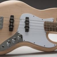 Alloy guitars usa custom guitar bodies necks diy guitar kits silver j style bass guitar kit solutioingenieria Choice Image