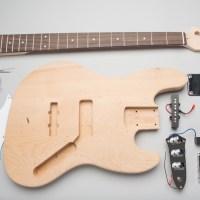 Basic J-Style Bass Guitar Kit