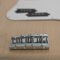 Gold P-Style Bass Guitar Kit