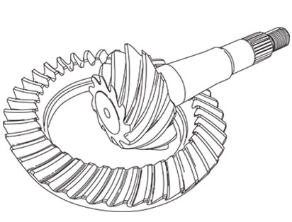 Ring & Pinion Gear Sets for Dana 30, Dana 35, Dana 44