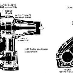 1995 Dodge Ram 3500 Wiring Diagram Yamaha Yfz 450 Plymouth Chrysler And Cars Trucks Of 1986 Transfer Case Pickup