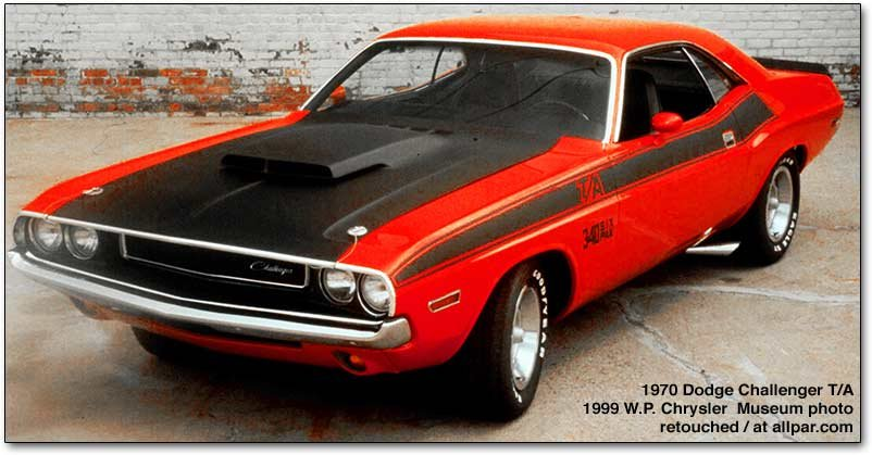 Dodge Challenger  the hot 19701974 muscle cars