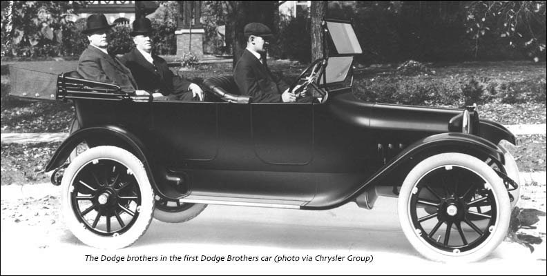 A Dodge Brothers car typical of what Lt. Babcock would repair.