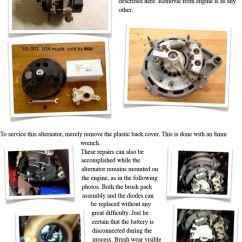 Wiring Diagram Alternator Omron Ly2n Relay Vintage Chrysler Electrical Repairs And Updates