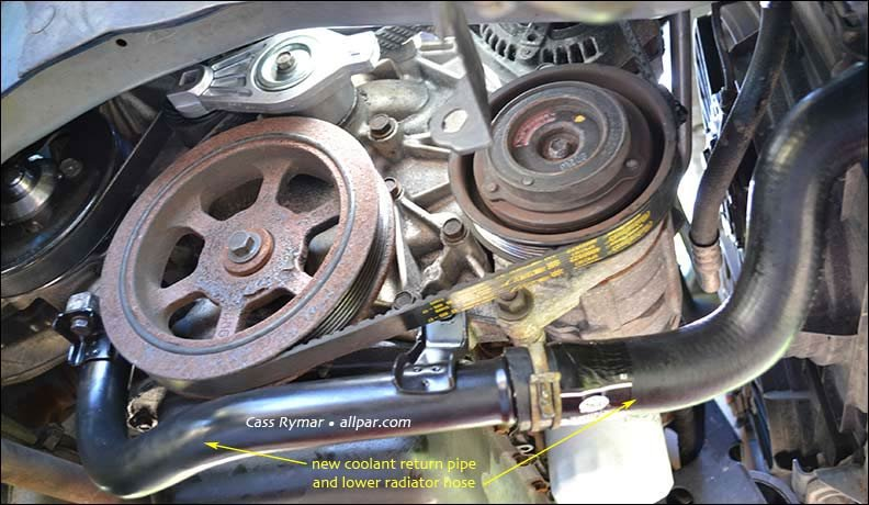 2000 dodge caravan belt diagram buick wiring diagrams free water pump replacement on 2002 (2001-07) chrysler town &country minivans (dodge caravans)