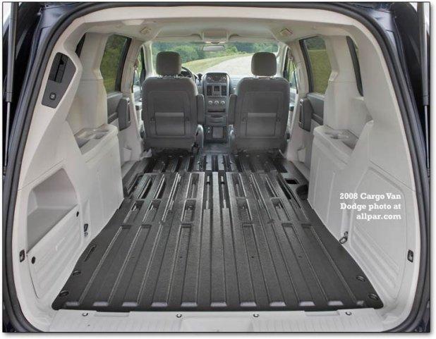 Interior cargo dimensions of dodge caravan for Dodge grand caravan interior dimensions
