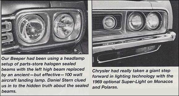 Lighting The Night High Power Headlamps For Muscle Cars
