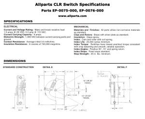 Original CRL 5 Way Strat Switch | AllpartsItalia