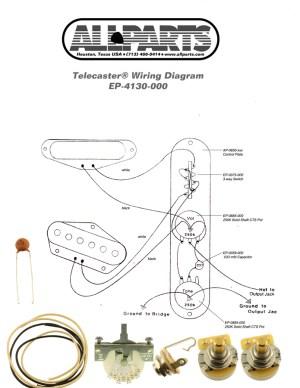 4Way Switch Wiring Kit for Telecaster   AllpartsItalia