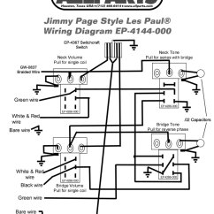 Telecaster 2 Humbuckers 4 Way Switch Wiring Diagram Plot And Definitions Kit For Jimmy Page Les Paul | Allpartsitalia.com
