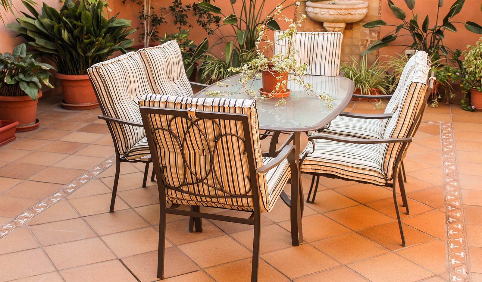 patio furniture refinishing repair