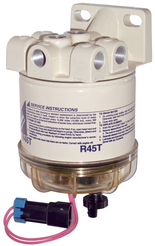 small resolution of racor 645r 645r12 645r24 series diesel spin on filter separators w heater