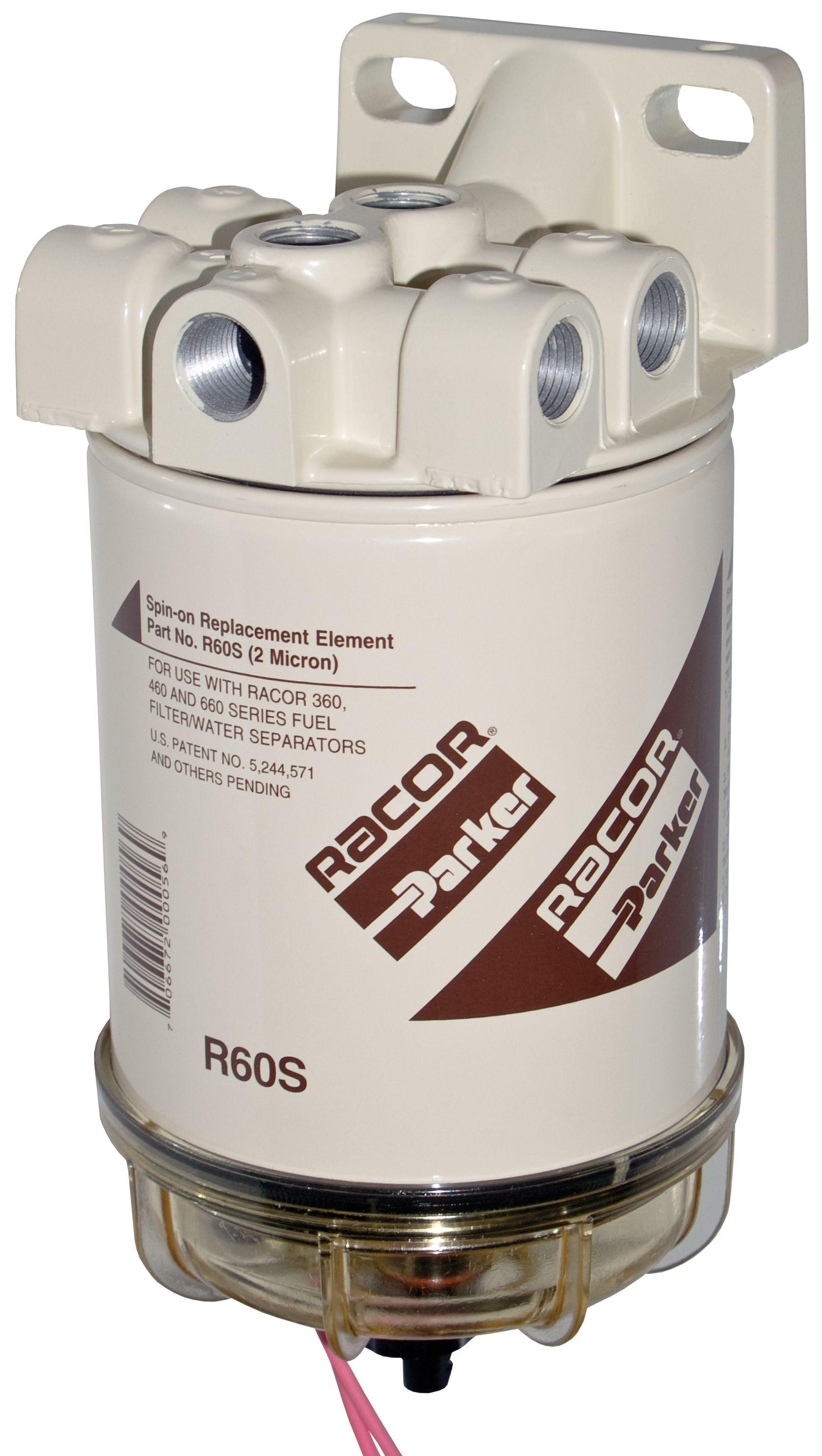 hight resolution of racor fuel filter diesel heater