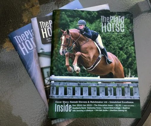 the plaid horse magazine allpony