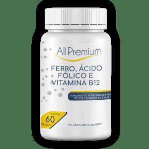 Ferro, Ácido Fólico e Vitamina B12