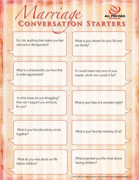 deep conversation topics relationships