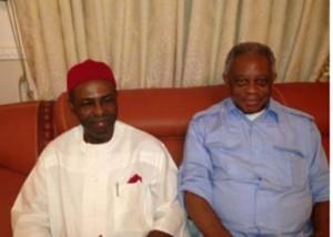Dr. Ogbonnaya Onu and Dr. S. Okechukwu Mezu in Abuja