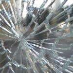 Broken Shop door glass Northern ireland toughened door glass emergency glazing northern Ireland Derry City domestic window glass
