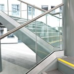 Commercial Architectural stair case glass made to measure ireland