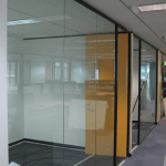 Glass Partition office fit out glass in ireland made to measure supply and install architectural glass cubicle office renovations