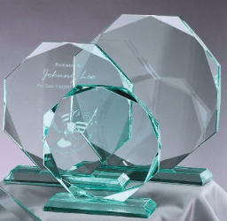 Glass Awards and Trophys in Northern ireland
