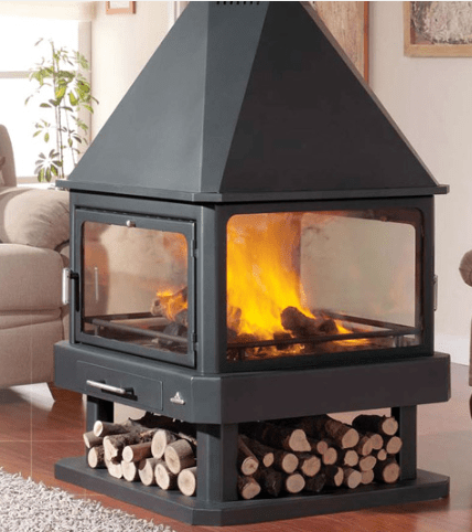 Replacement Wood Burning Stove Glass In Derry City Northern Ireland Ireland All Purpose Glazing