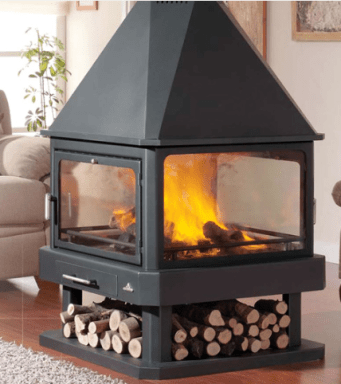 Replacment Wood burning stove glass in Derry city Northern ireland ireland