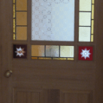 wooden doors Deourative coloured glass leaded light for domestic internal doors lead lines and coloured glass designed and manufactured in derry city and northern ireland