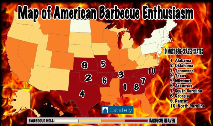 Eastern Nc Bbq Map Sante Blog