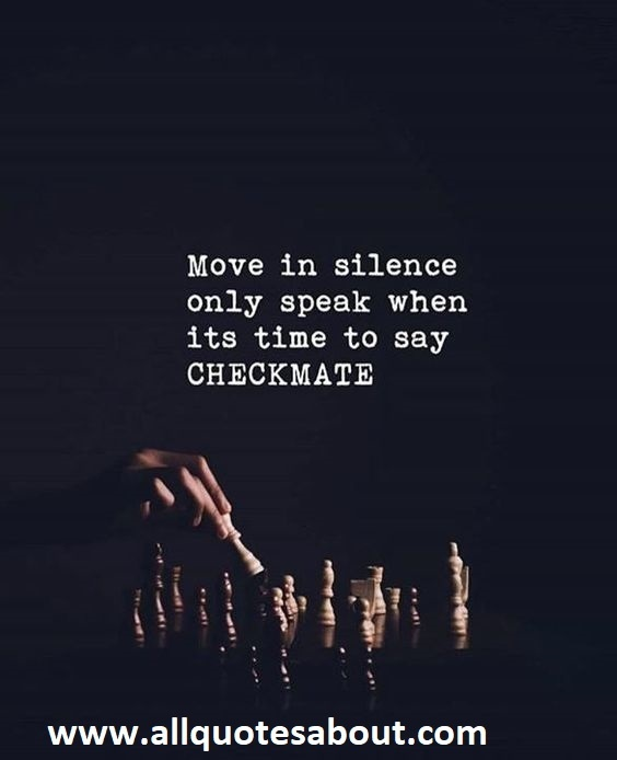 Making Moves In Silence Quotes : making, moves, silence, quotes, Quiet, Quotes