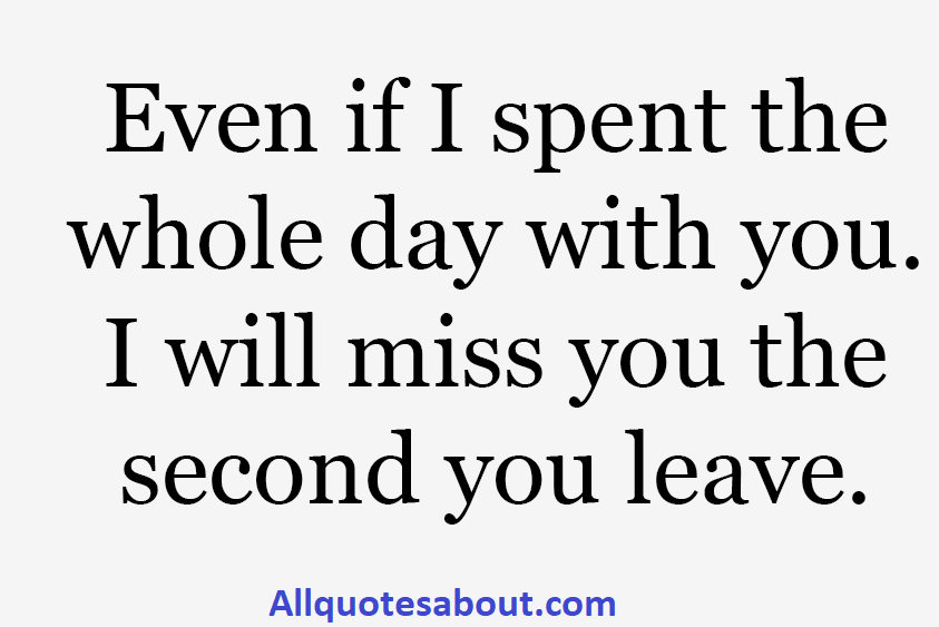 missing you quotes and saying