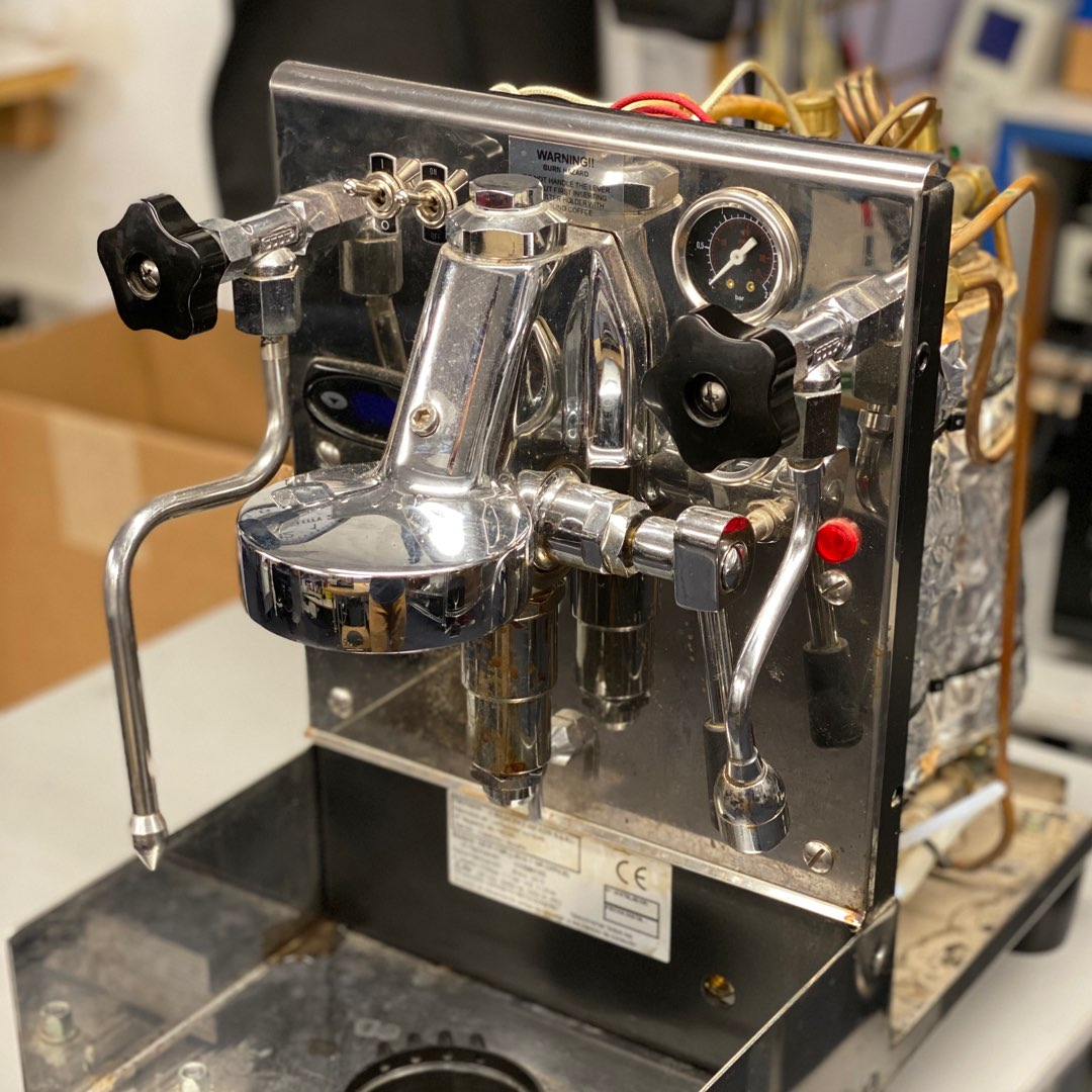 Rocket espresso machine repair Rocket espresso machine disassembly