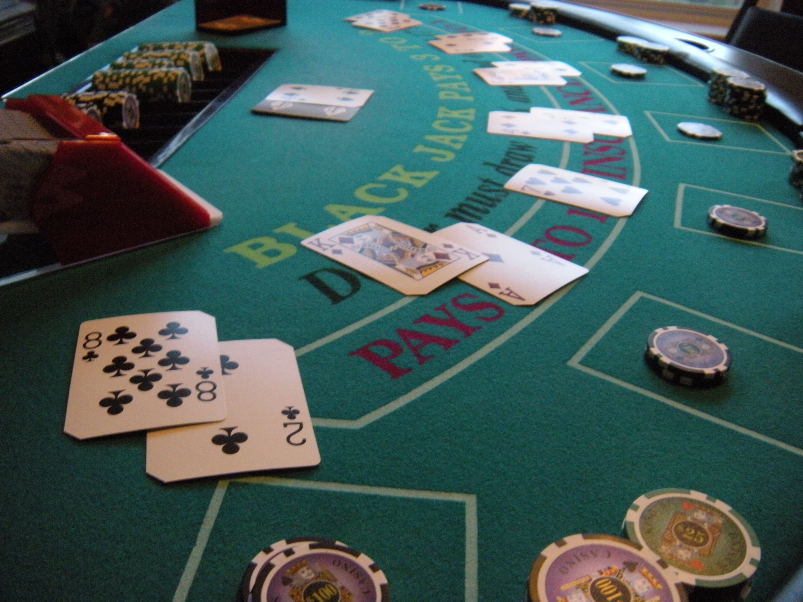 Casino Night  Fundraiser  Bingo  Poker  Blackjack