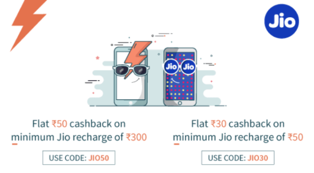 Freecharge Jio Recharge recharge offer-Flat 75 Cashback for
