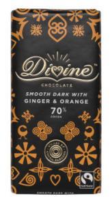 Divine ingefära apelsin
