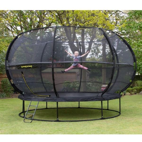 Jumpking 14ft Zorbpod Trampoline & Enclosure Fun