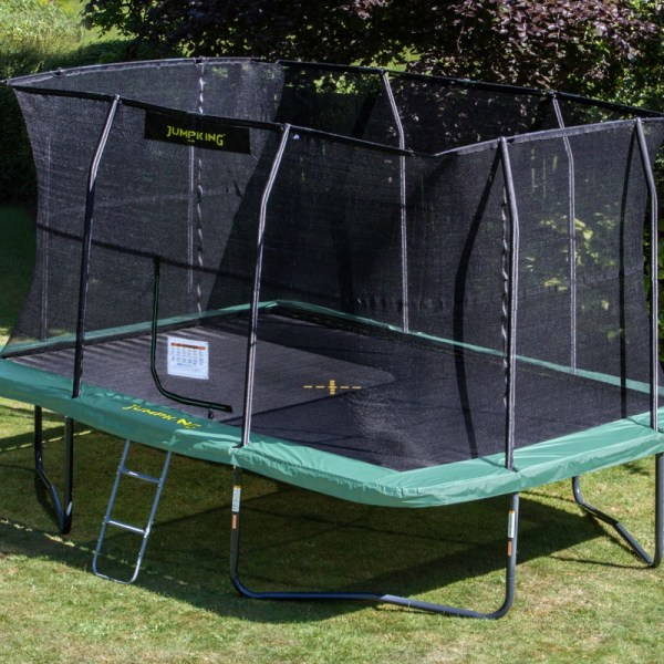 Jumpking 10ft X 14ft Rectangular Trampoline Fun