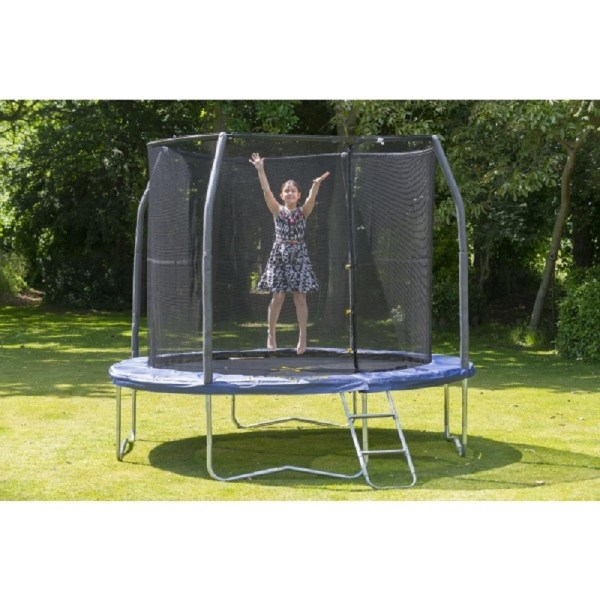 Jumpking 10ft Jumppod Deluxe Trampoline Package Fun
