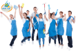Maid-Perfect-Commercial-Cleaning-Team-Jumping-in-the-air