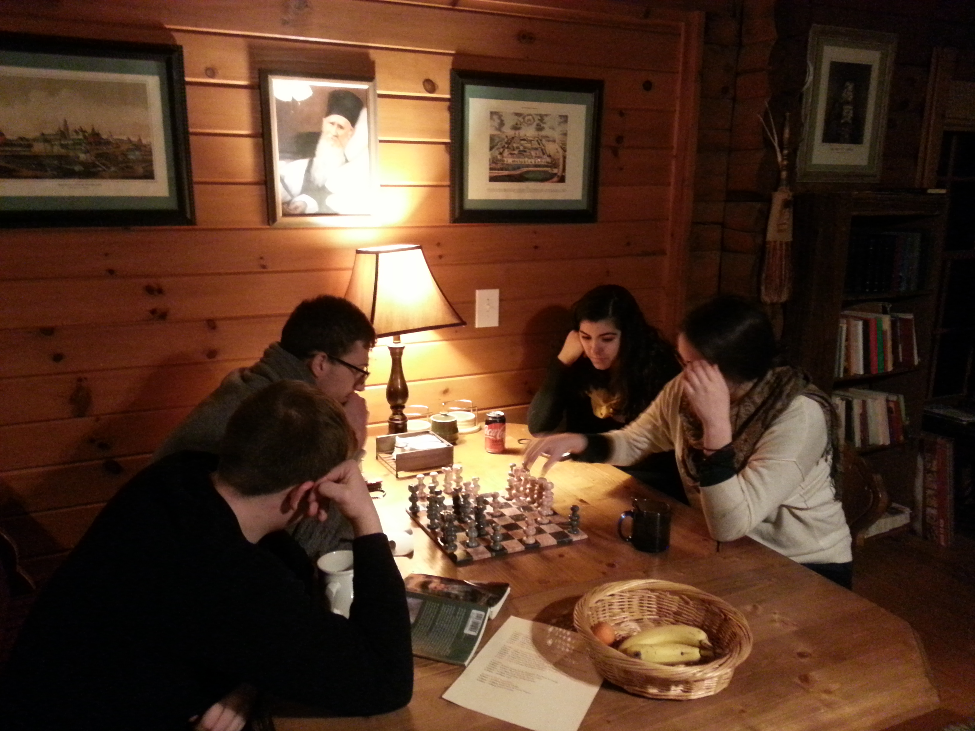 Chess in the Guest House
