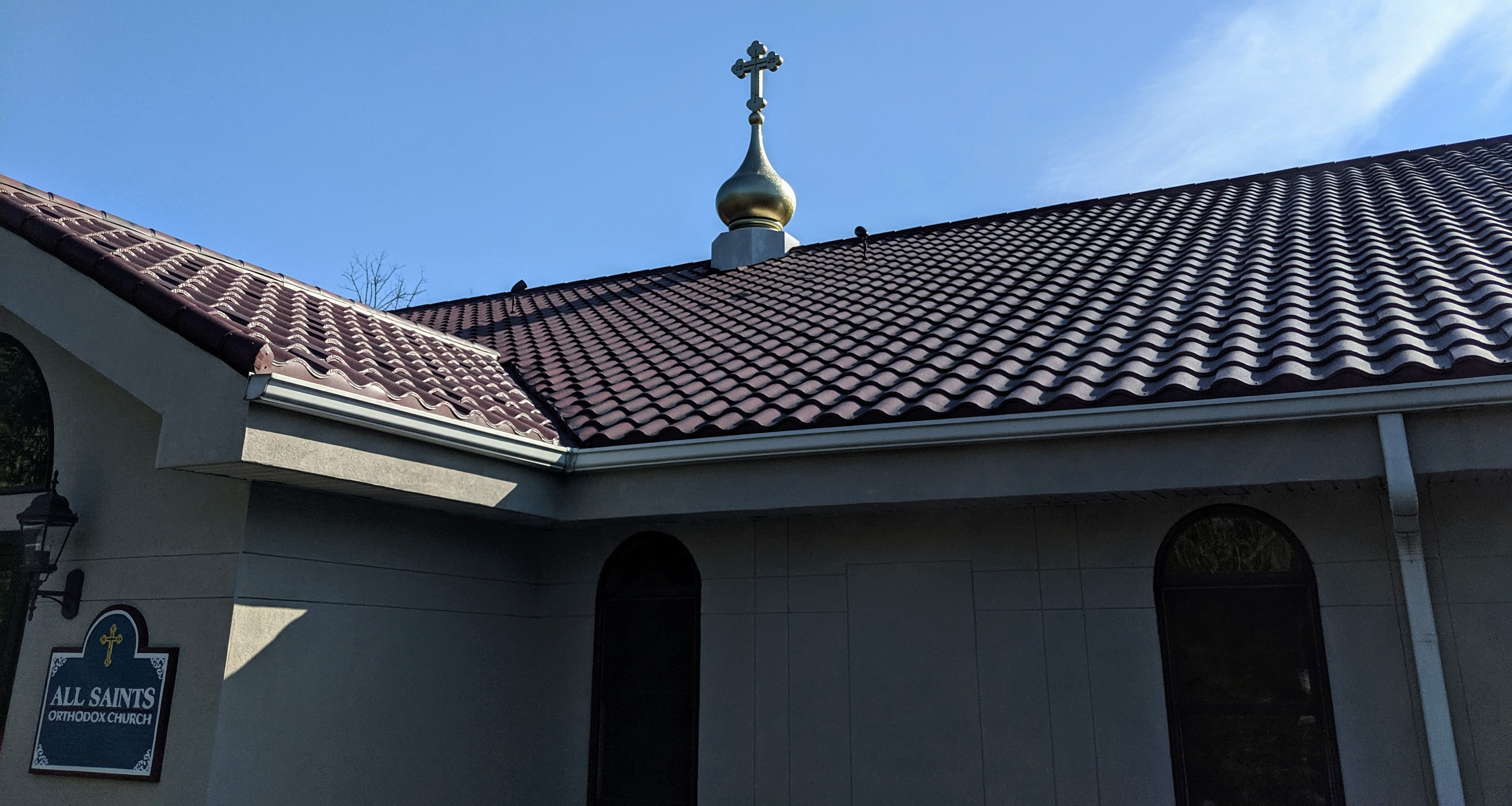 All Saints Orthodox Church - Top of Building