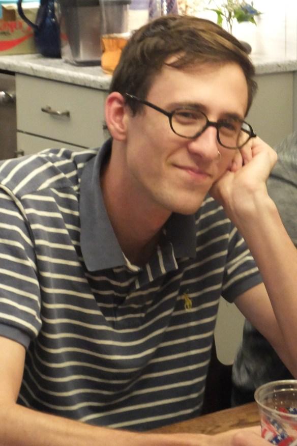Ben contemplating something